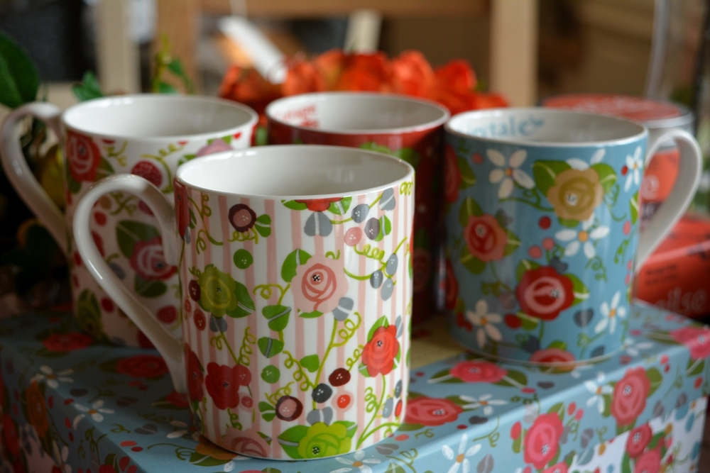 Set of Four Mugs €24.00