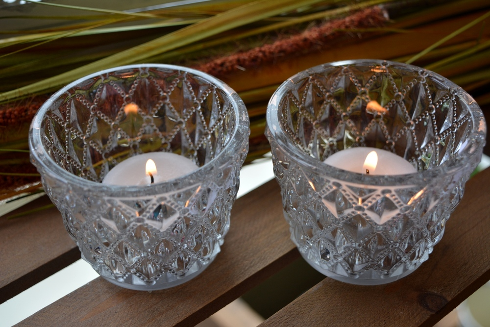 Glass Tea Light Holders €2.90