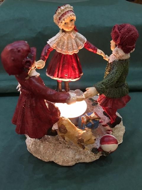 Victorian Children Tea-Light Holder: €25.00