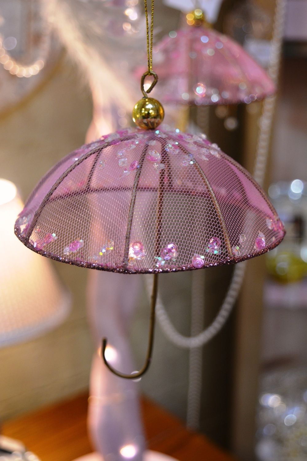 Pink Umbrella Decoration - €4.50