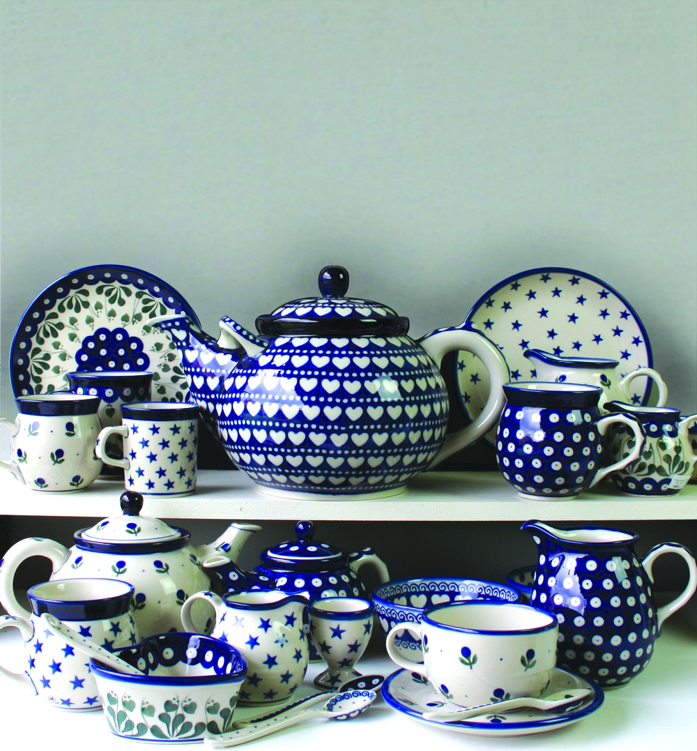Just in:Artisan Pottery from Poland. More details soon!