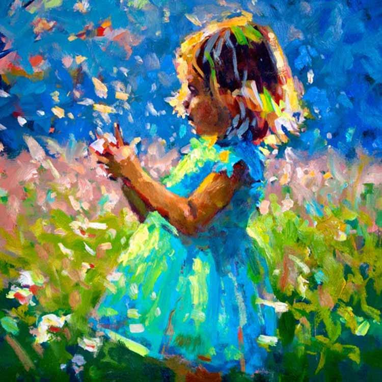 CHILDHOOD IS A SHORT SEASON, PRINT BY PAUL MALONEY, 23CM X 38CM, €79