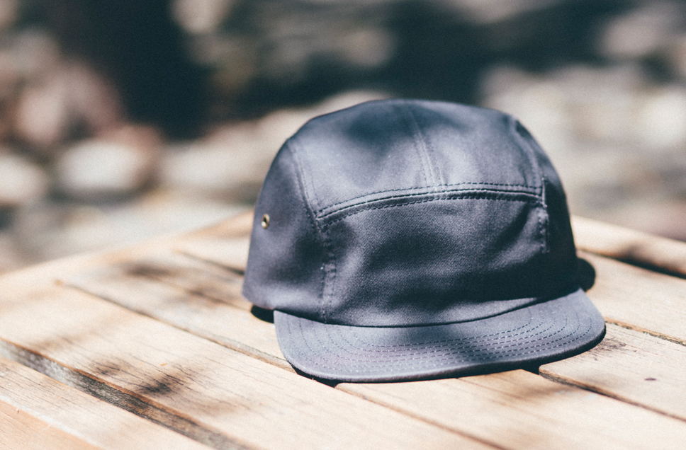 Alder 5-Panel Cap in Charcoal