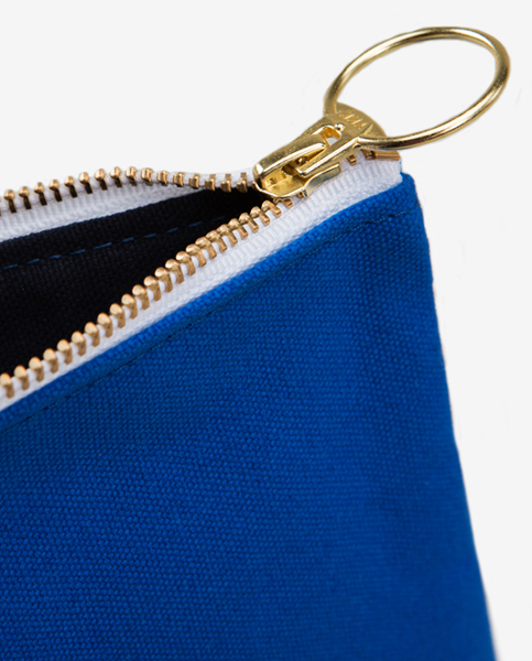 Morris Zip Pouch in Bluebird