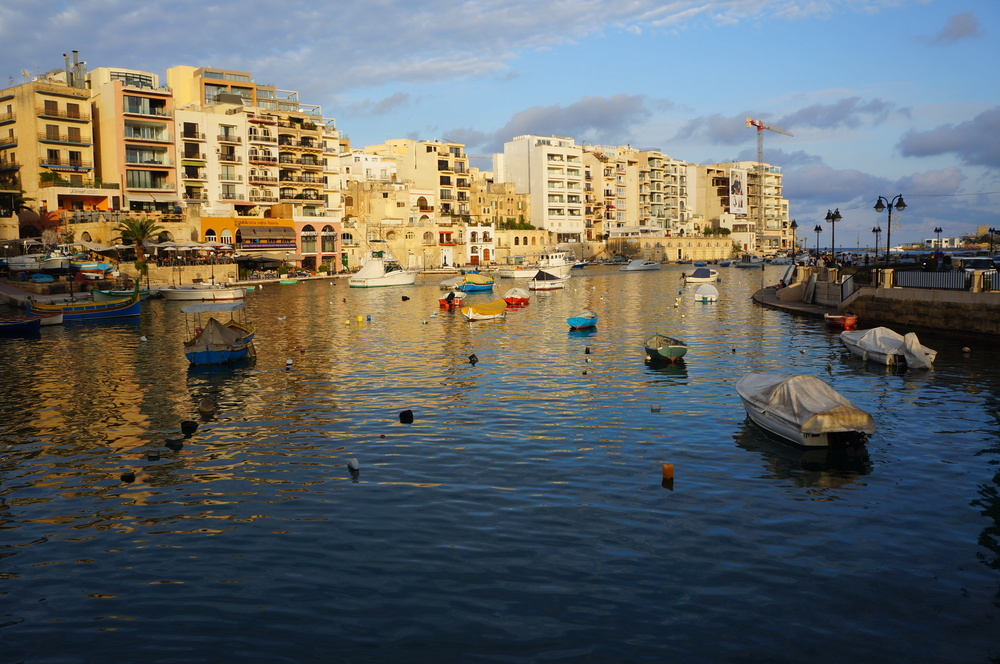 St. Julian's Bay, Malta by madeinmoments.com