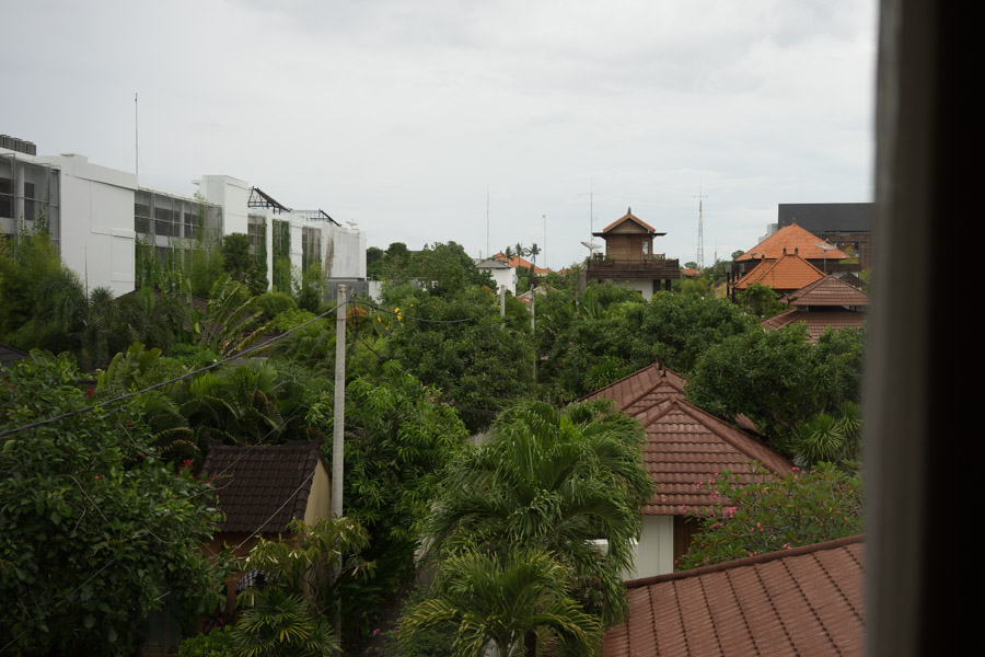 View from apartment in Bali / MadeinMoments.com