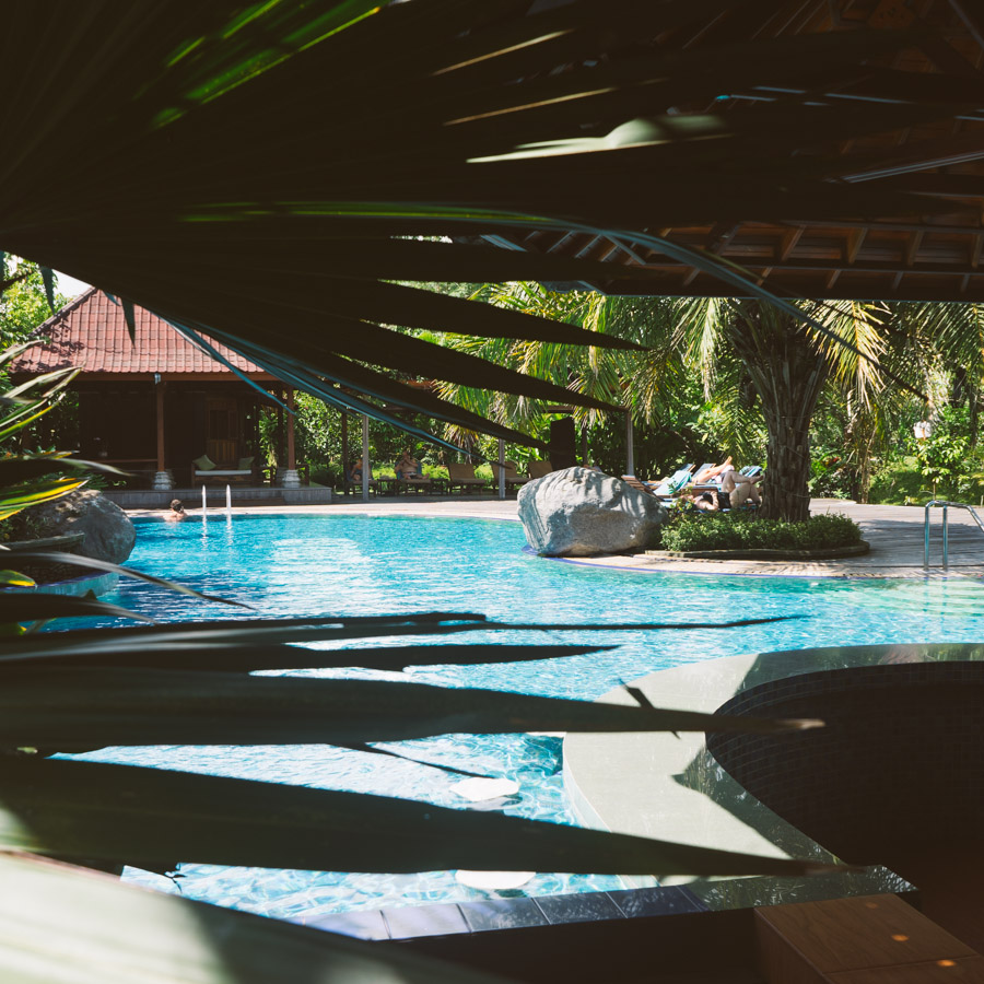 Pool scene, Bali / madeinmoments.com