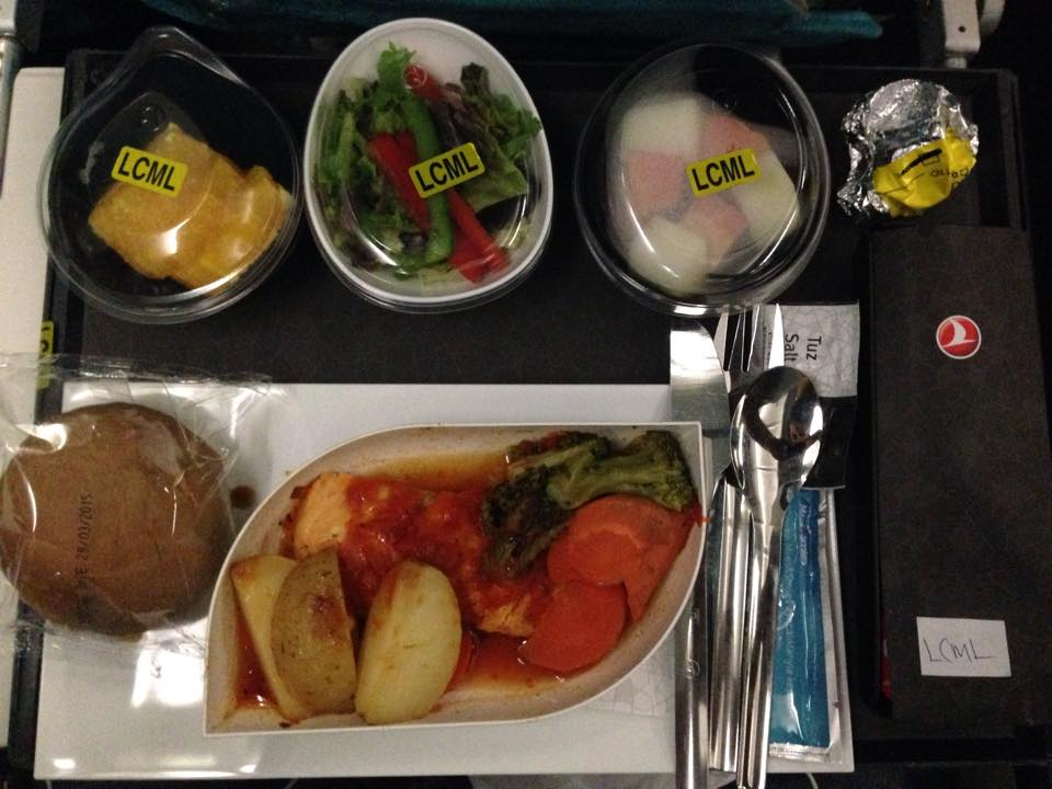 Low Calorie Meal, Turkish Airlines