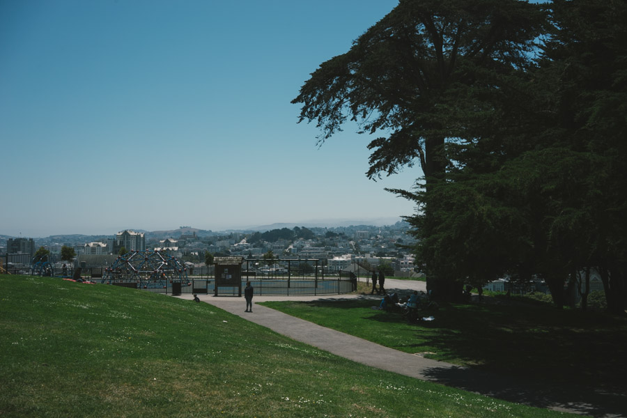 Alta Plaza Park, San Francisco | www.MadeinMoments.com - A special kind of travel blog