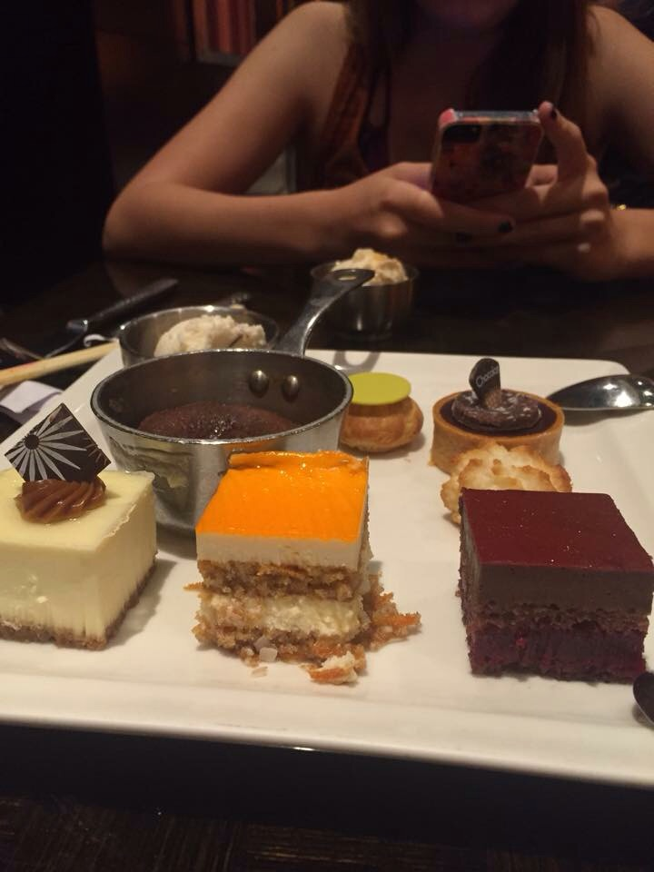 An assortment of delicious desserts at Wicked Spoon Buffet in the Cosmopolitan.