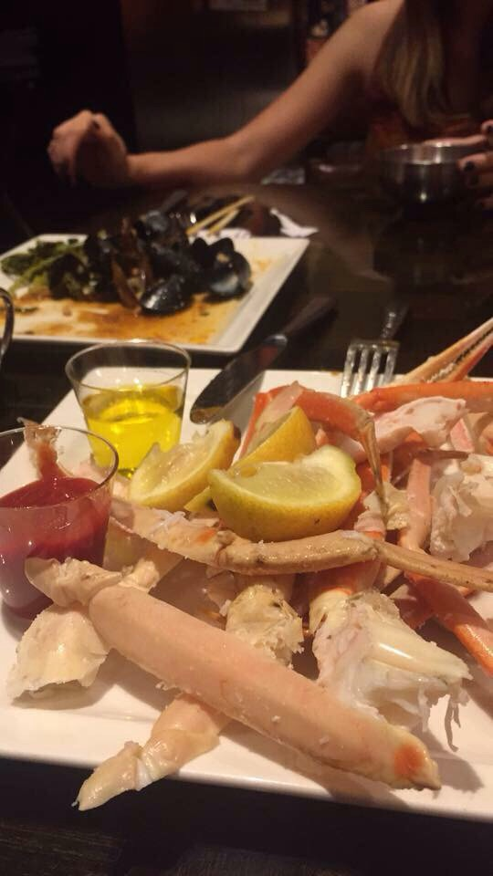 We went all out on the seafood at Wicked Spoon Buffet.