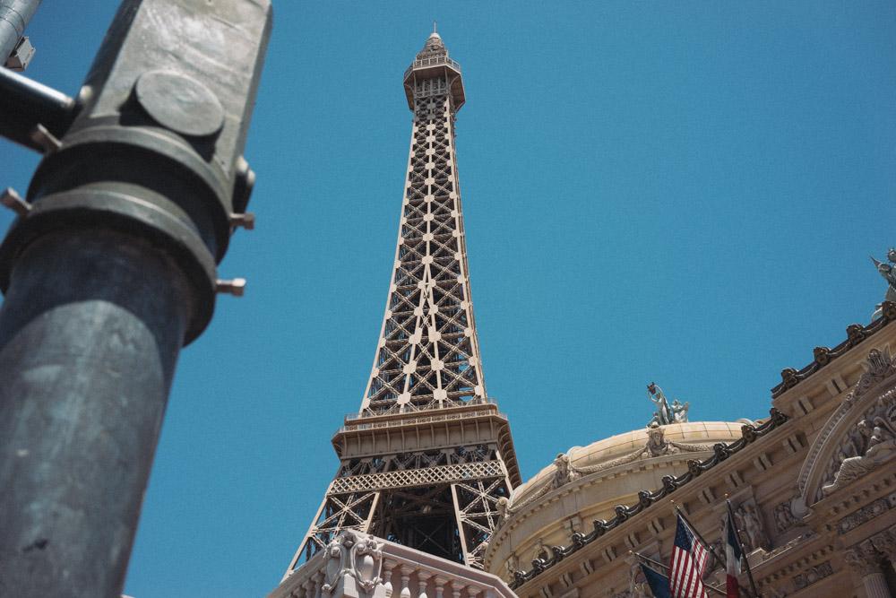 Eiffel tower, Las Vegas!