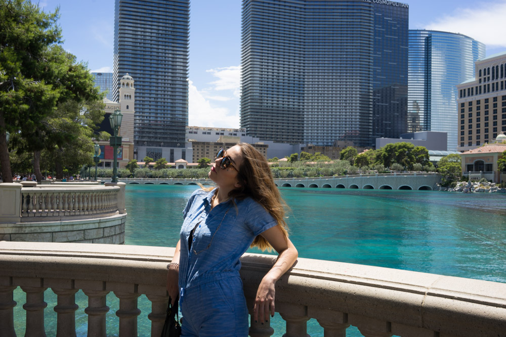 Sunbathing in Vegas