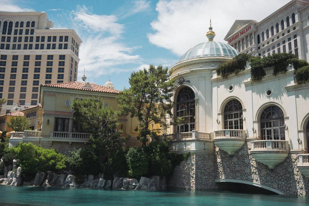 The beautiful Bellagio in Las Vegas