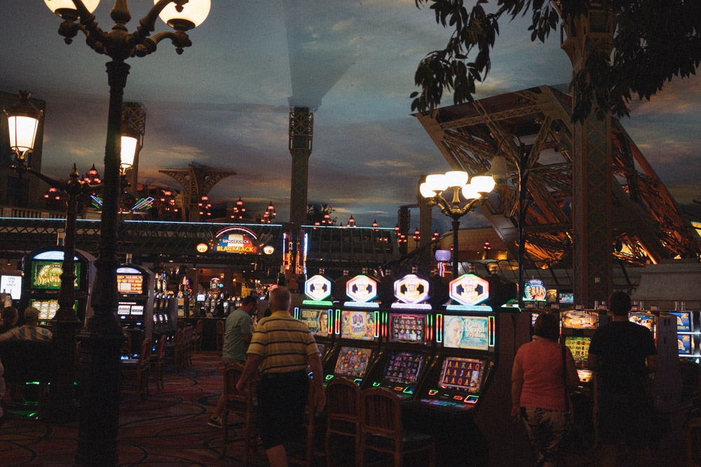 Loosing track of time in the casinos of Las Vegas