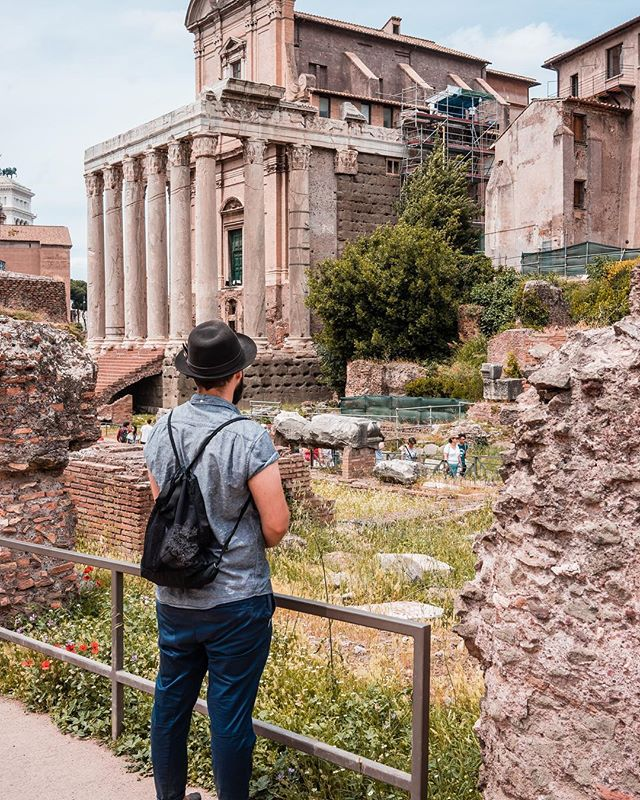 It's amazing how much of the Roman Forum is still standing. 🙌🏼