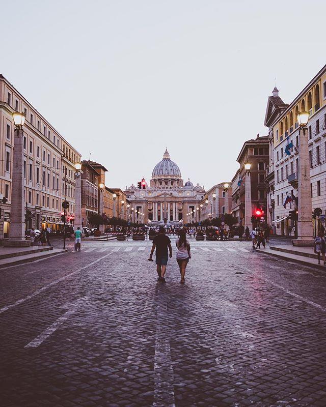 Sunset Vatican. 🙌🏼🕯🕯