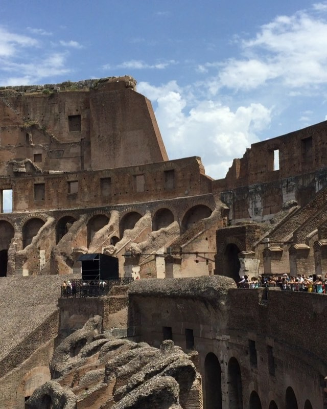 Colosseum at prime time!