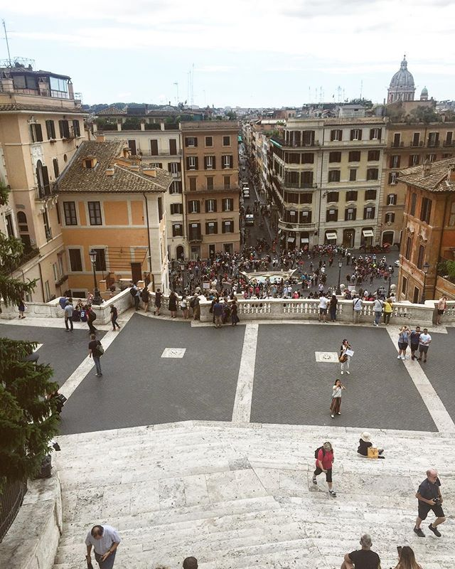 The Spanish Steps weren't our favorite part of Rome, but maybe were just spoiled from living in Prague. Idk. You tell us.