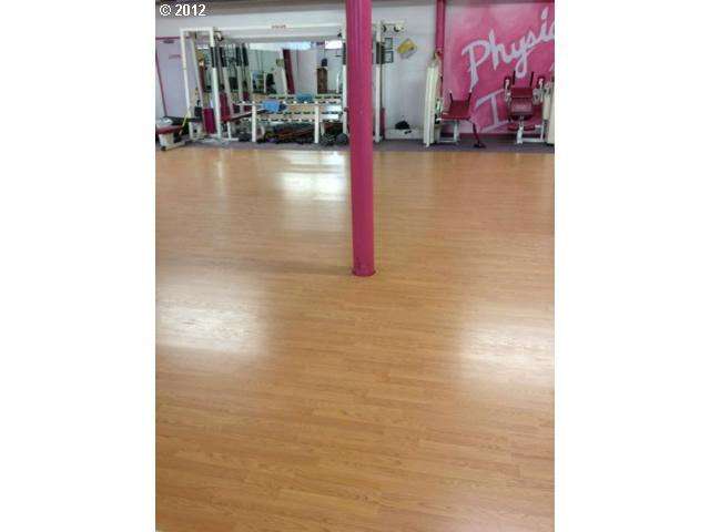 Aerobics area on 3rd floor