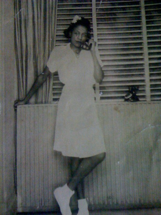 My grandma at 16.