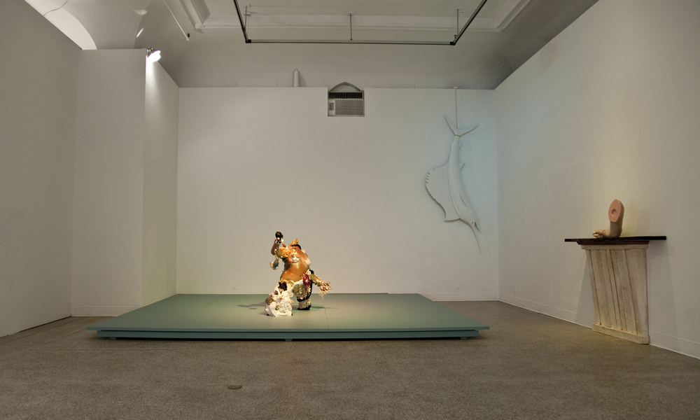 (2011) exhibition view