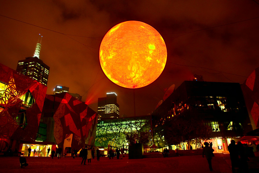 Winter Sun Festival, Federation Square, Melbourne