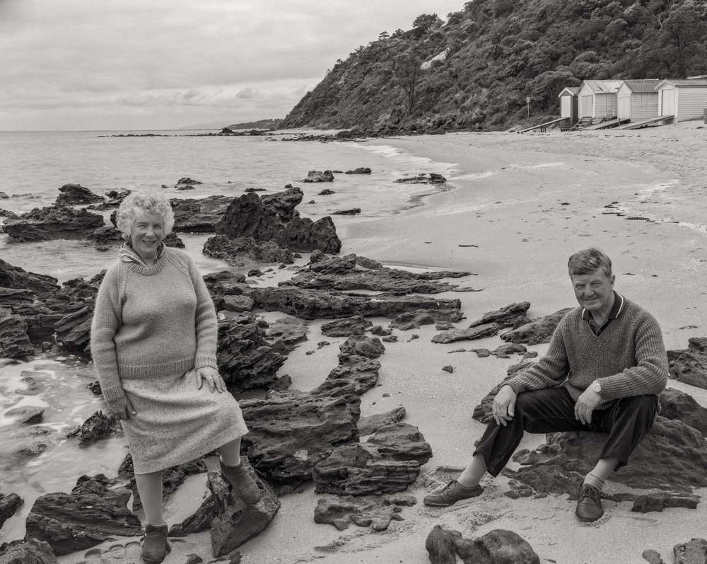 Mary and Fred Guy, Mornington Beach, Australia