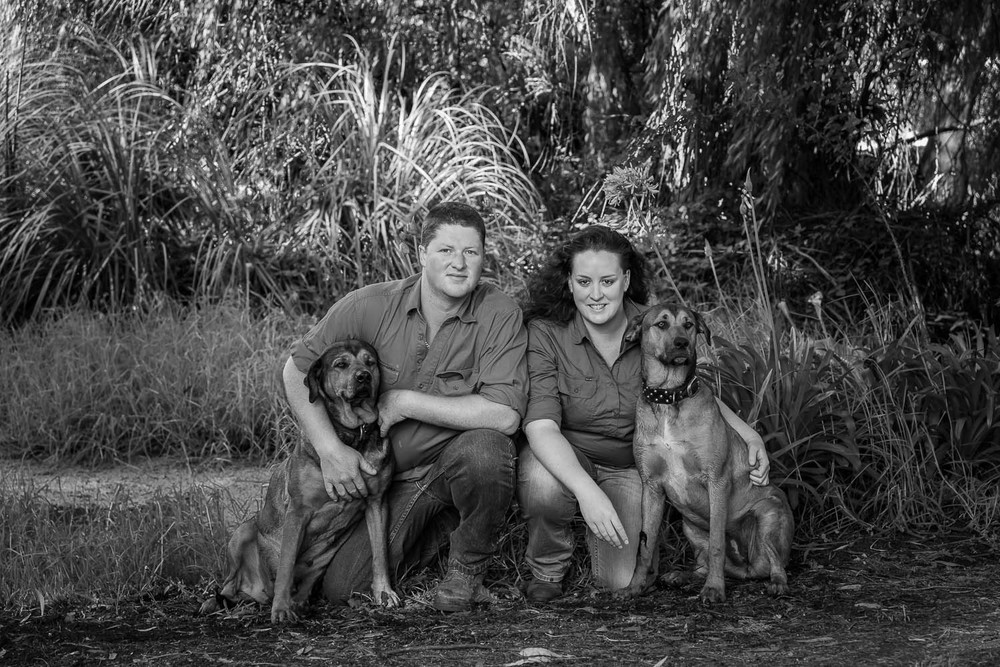 A handsome couple with their almost as handsome dogs. Nikon D800e camera and Nikon 24-120mm f4 lens @ 70mm. Exposure: 1/60 second @ f5.6 ISO 400.