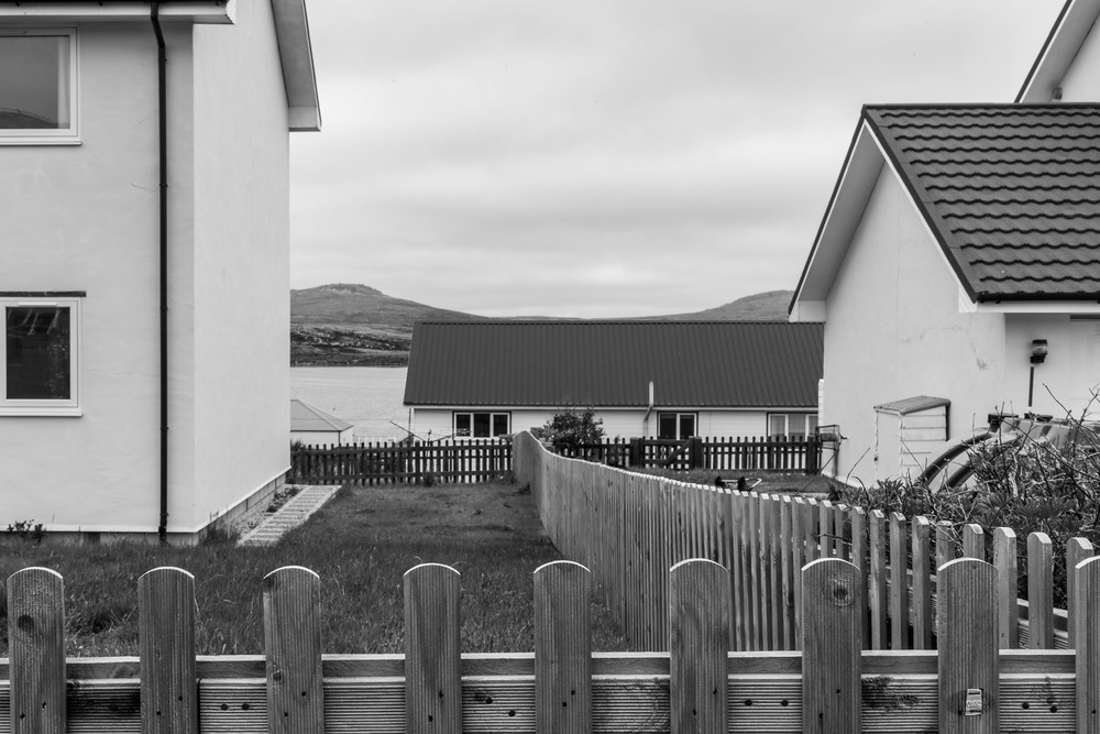 Fences, Roofs and Walls, Port Stanley, Falkland Islands Canon 5D Mark II camera and Canon 24-105mm f4 L series lens @ 55mm. Exposure: 1/15 second @ f22 ISO 100.