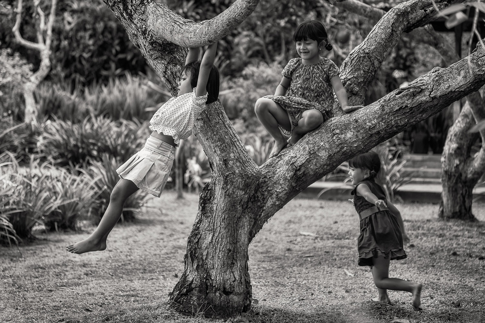 Kids at Play, Bali, Indonesia