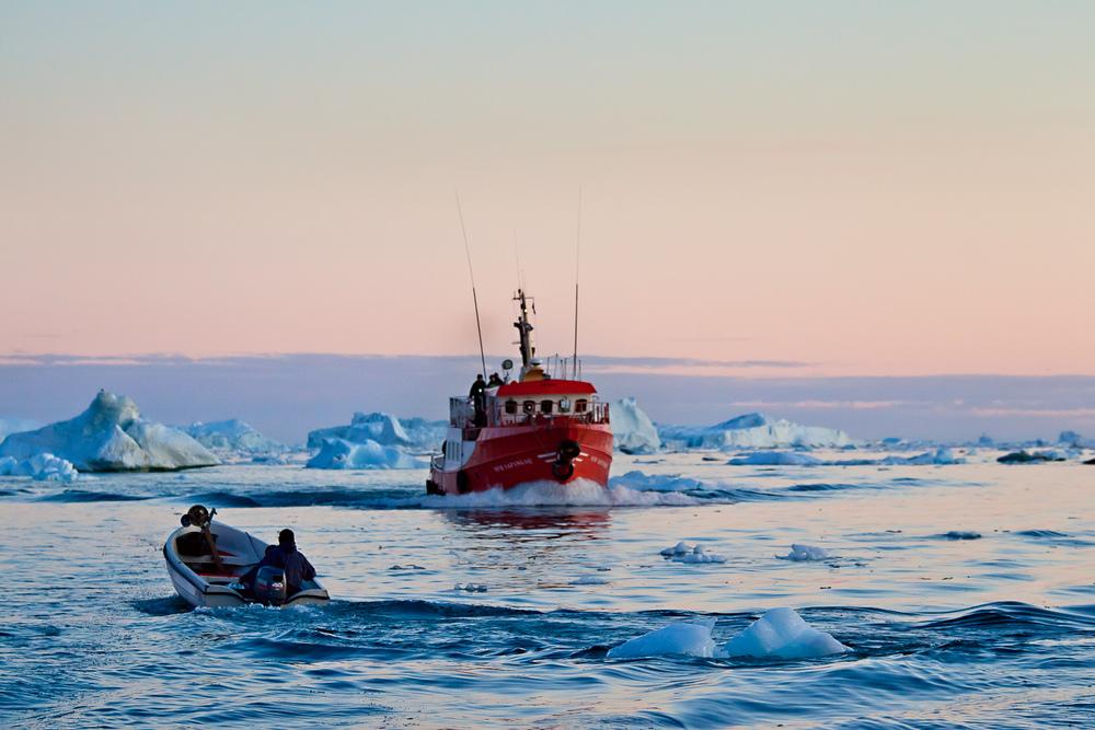Gone Fishing, Ilulissat, Greenland