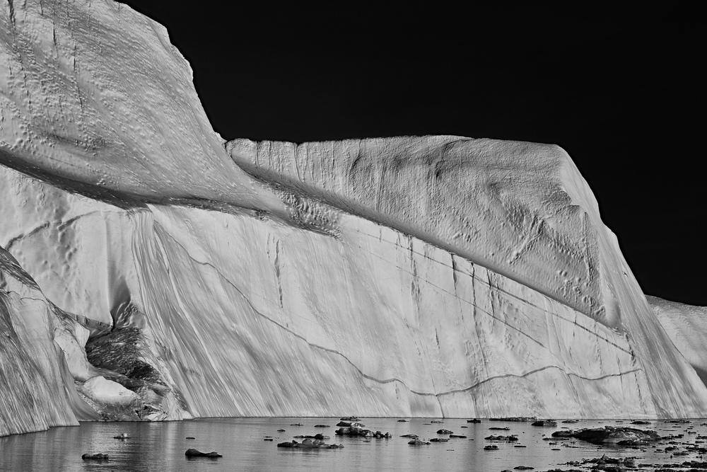 Iceberg at Night, Ilulissat Icefjord, Greenland