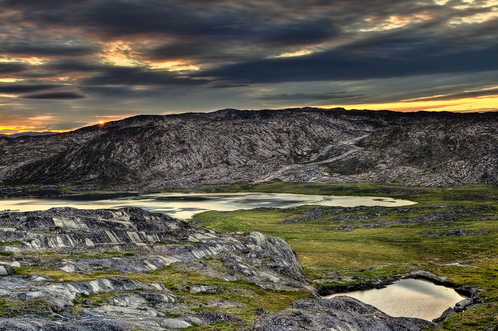 Sunrise, Ilulissat, Greenland