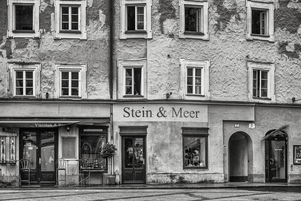 Old Town Exterior, Salzburg, Austria