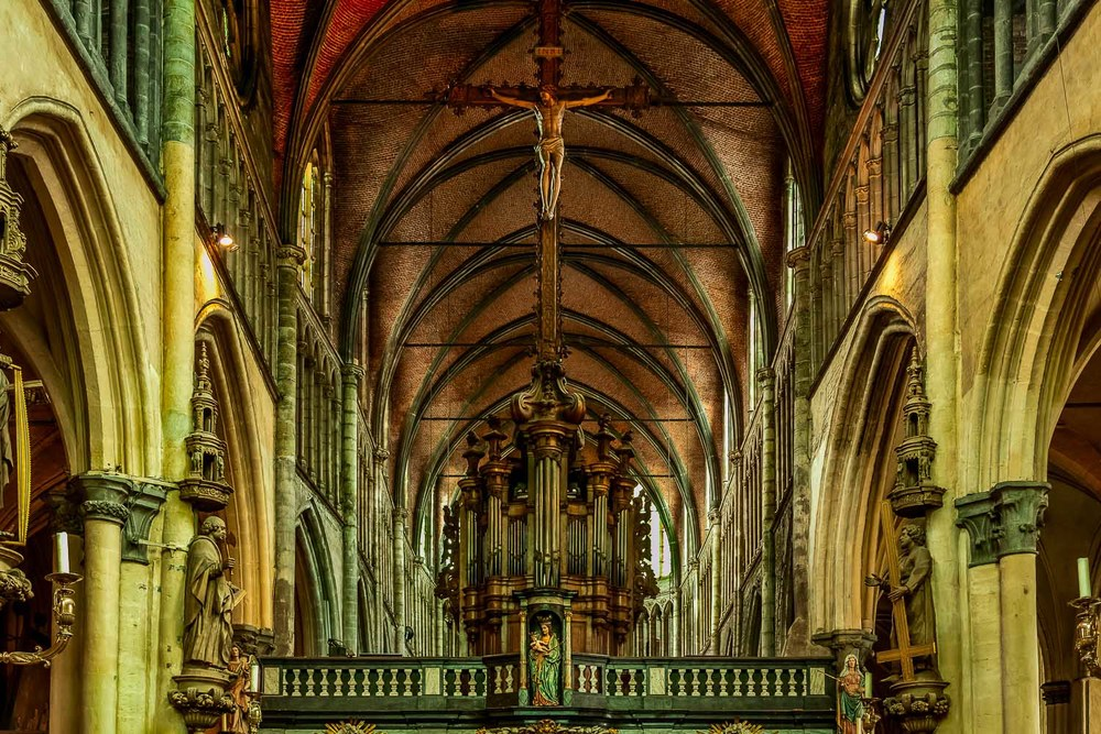 Church of Our Lady, Interior, Brugge, Belgium