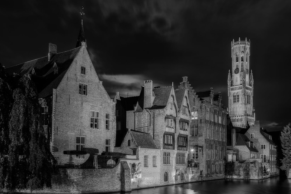 By the Canal, Brugge, Belgium
