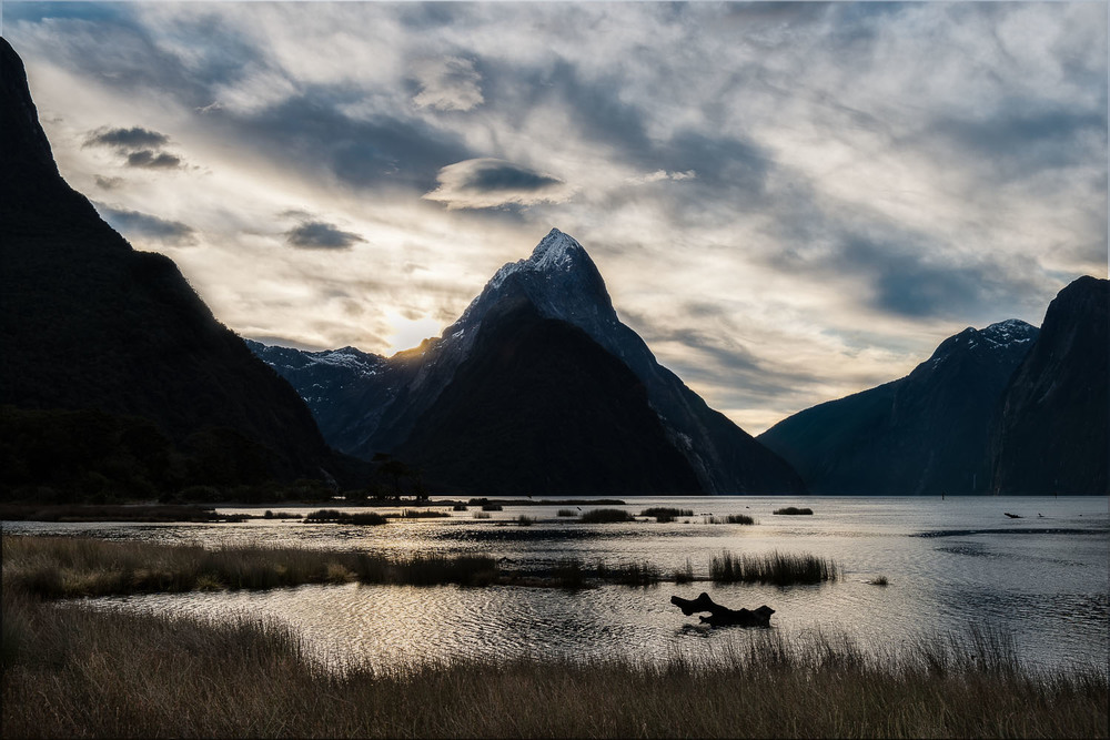 Fading Light, Milford Sound, New Zealand