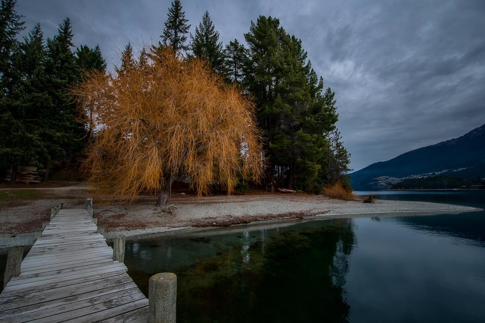 Pier, Lake Wakatipu, Queenstown, New Zealand
