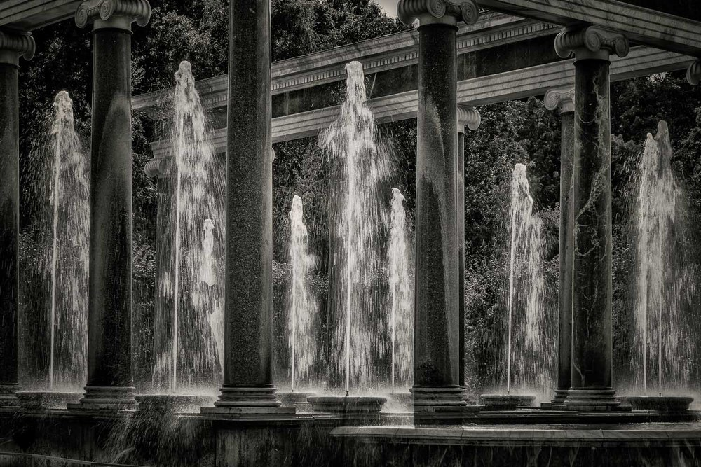 Water Fountains at Peterhof Palace, St. Petersburg, Russia