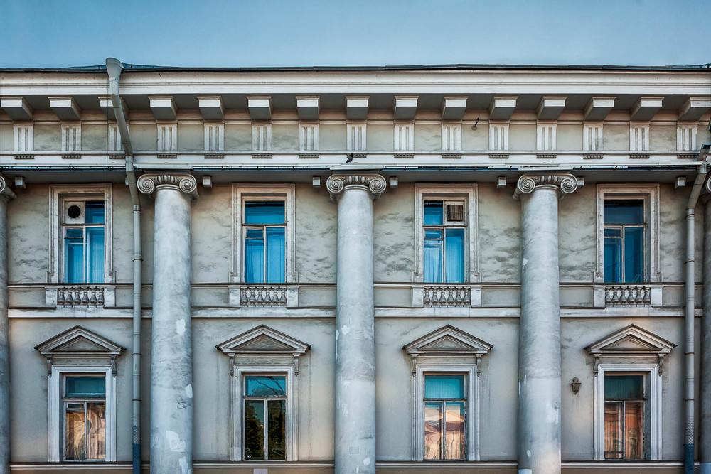 Building Facade, St. Petersburg, Russia