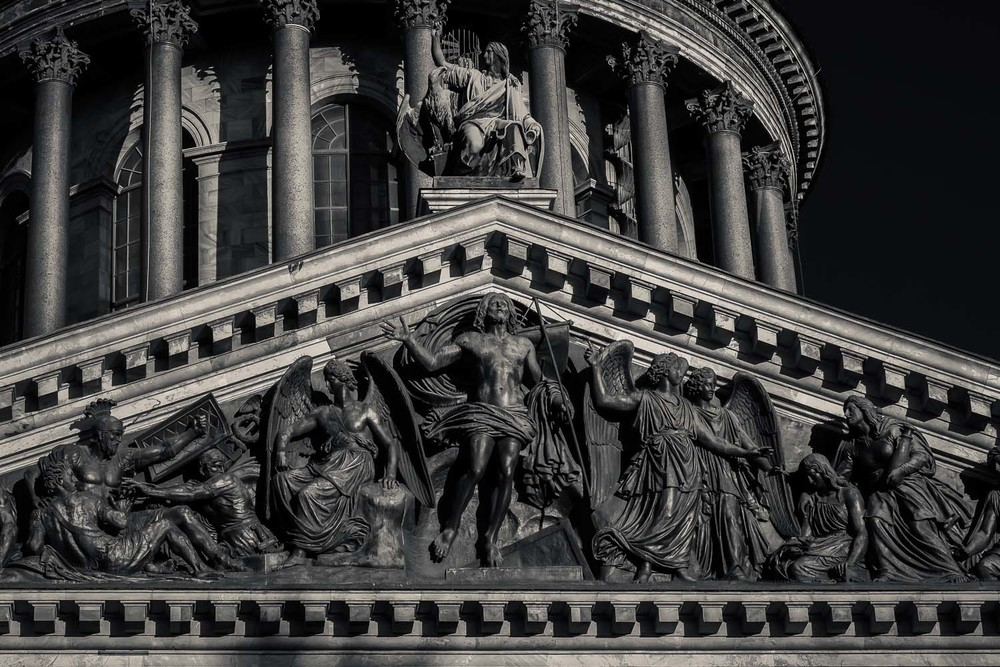 Church Detail, St. Isaac's Cathedral, St. Petersburg, Russia