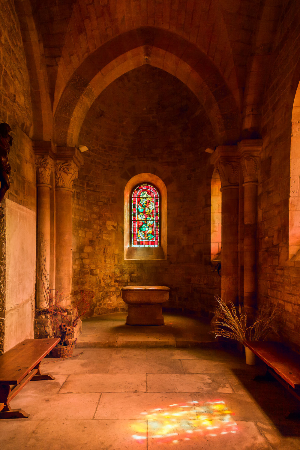 Quiet Moment, Chapel, Paris, France