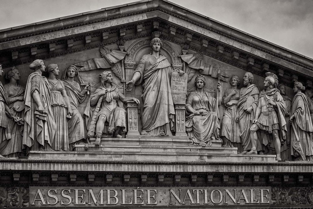 Detail, Assemblee Nationale, Paris, France