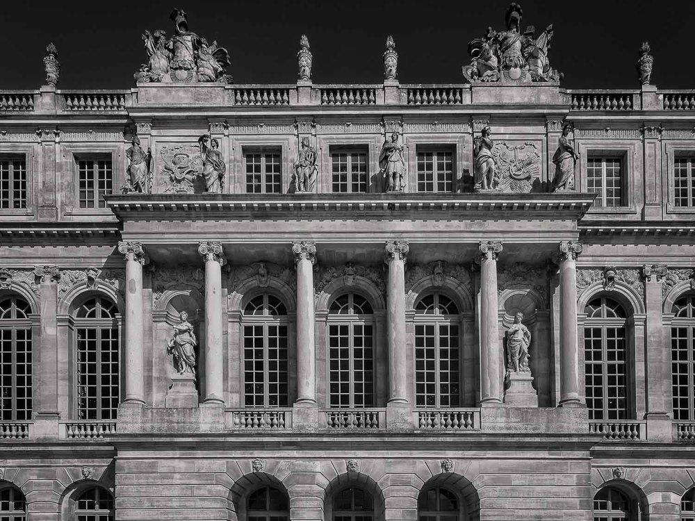 Facade, Versailles, France