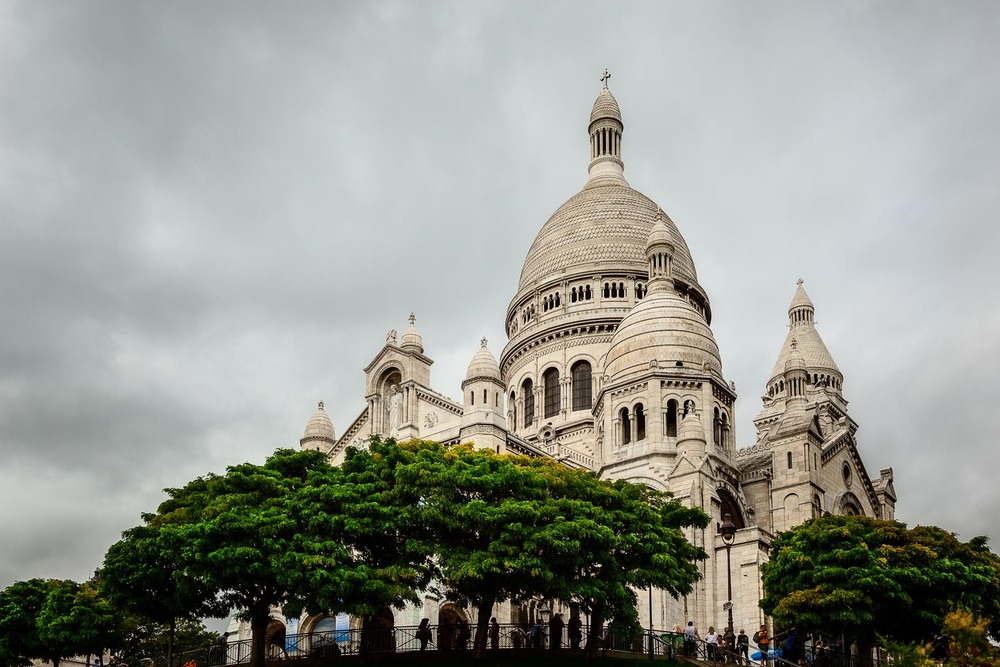 Looking Upwards, Sacre Coeur, Paris, France