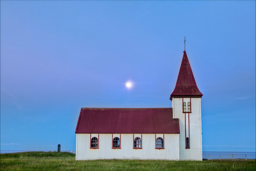 Church by the Sea, Iceland