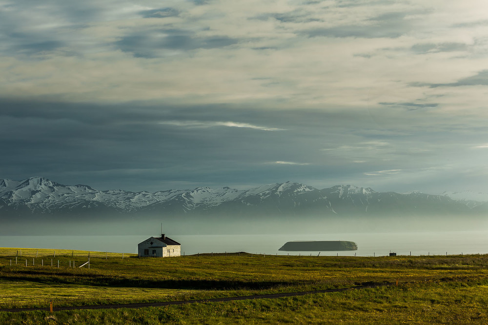 Farmhouse by the Sea, Iceland