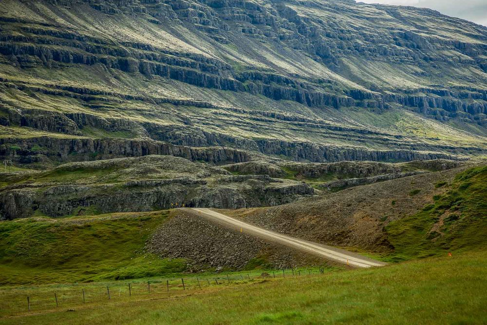 The Road Through the Pass, Iceland