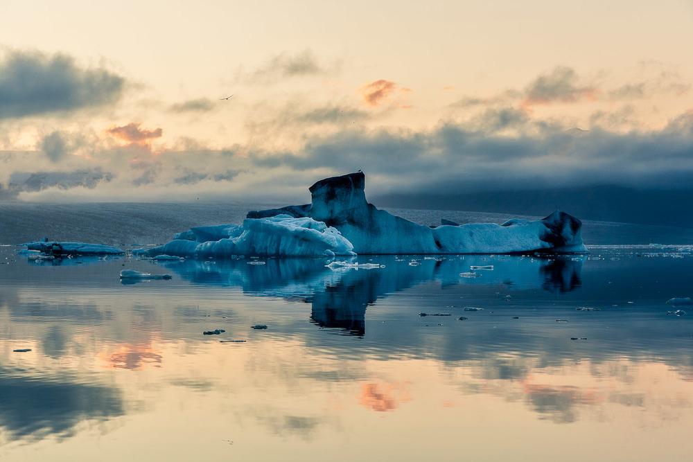 Submarine Ice, Jokulsarlon Lagoon, Iceland